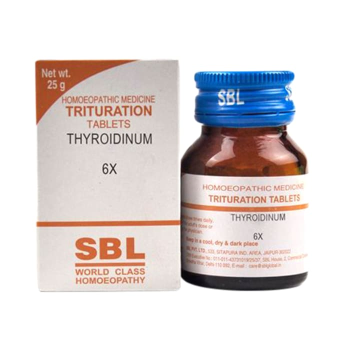 SBL Thyroidinum Trituration Tablet 6X