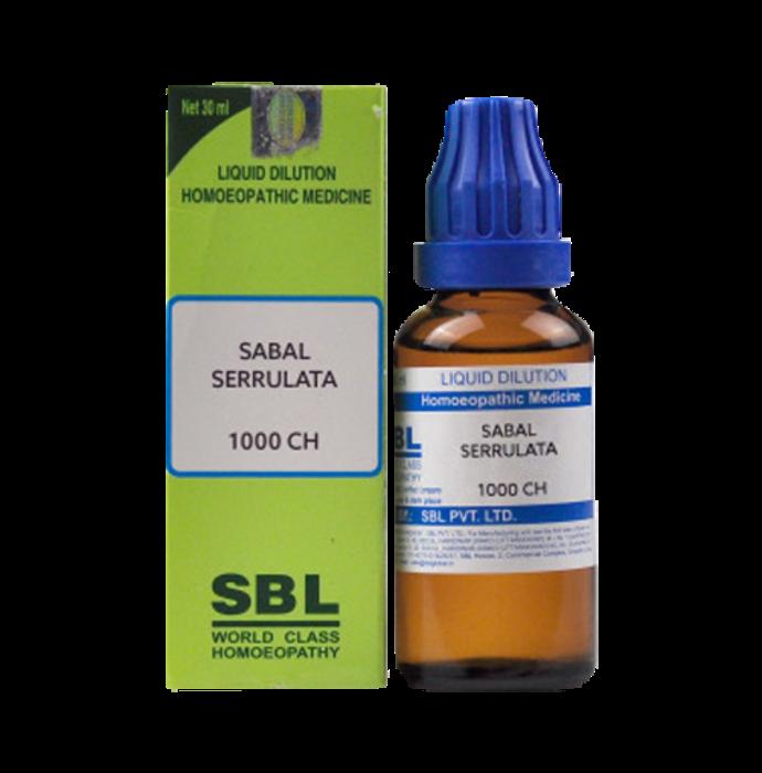 SBL Sabal Serrulata Dilution 1000 CH