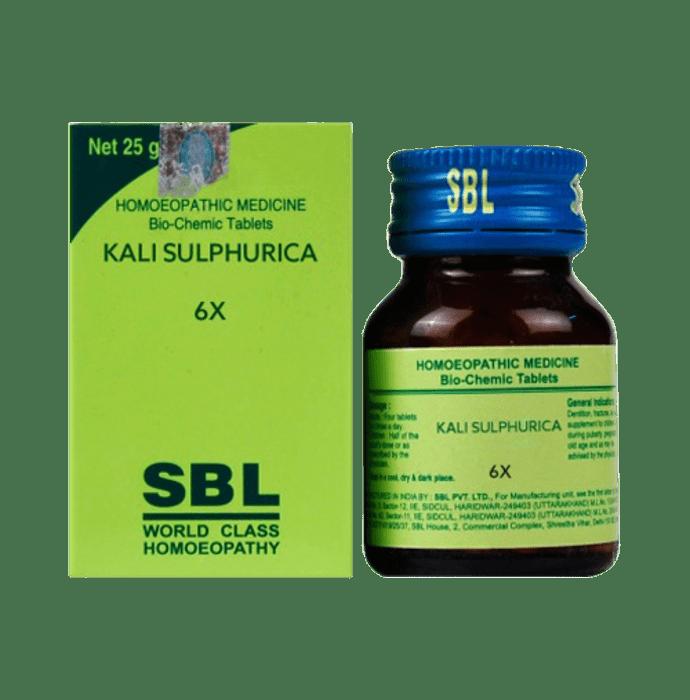 SBL Kali Sulphurica Biochemic Tablet 6X