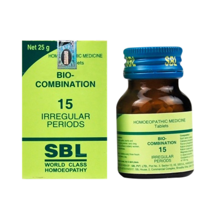 SBL Bio-Combination 15 Tablet