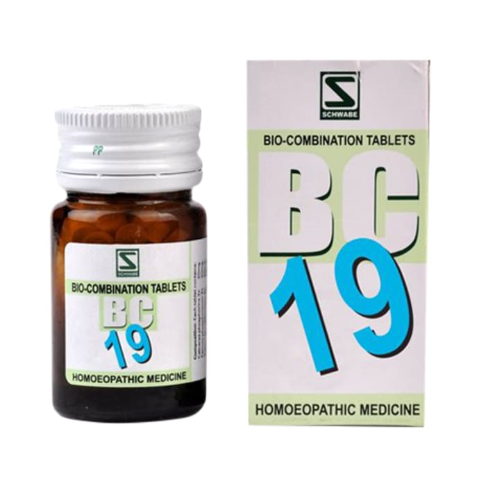 Dr Willmar Schwabe India Bio-Combination 19 (BC 19) Tablet