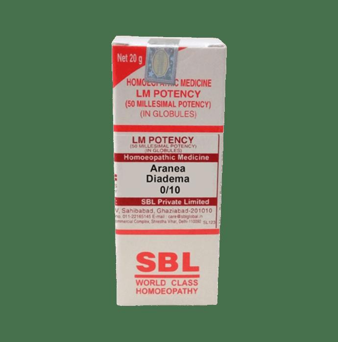 SBL Aranea Diadema 0/10 LM