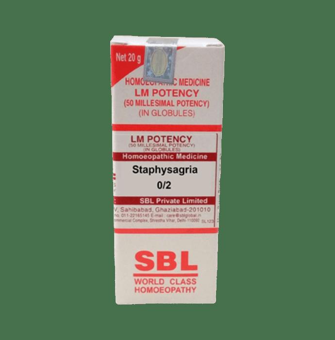 SBL Staphysagria 0/2 LM