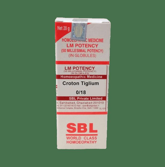 SBL Croton Tiglium 0/18 LM