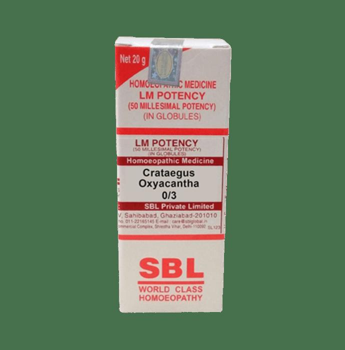 SBL Crataegus Oxyacantha 0/3 LM
