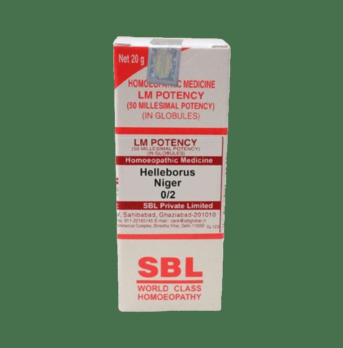 SBL Helleborus Niger 0/2 LM