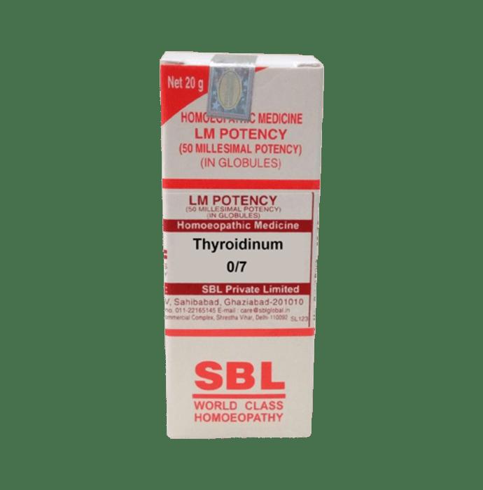 SBL Thyroidinum 0/7 LM