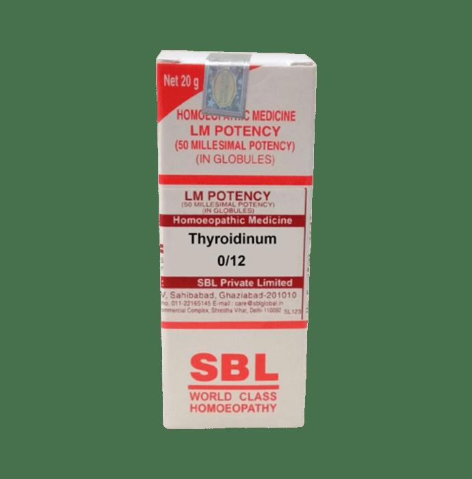 SBL Thyroidinum 0/12 LM