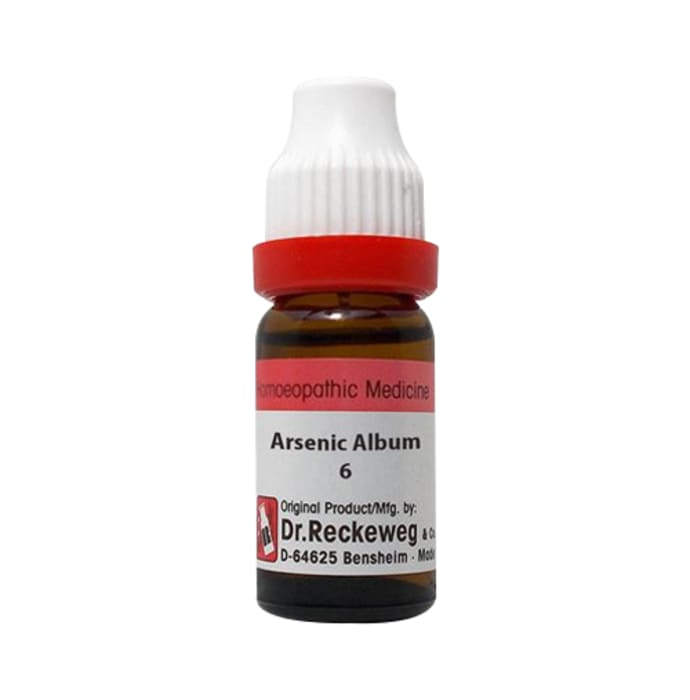 Dr. Reckeweg Arsenic Album Dilution 6 CH
