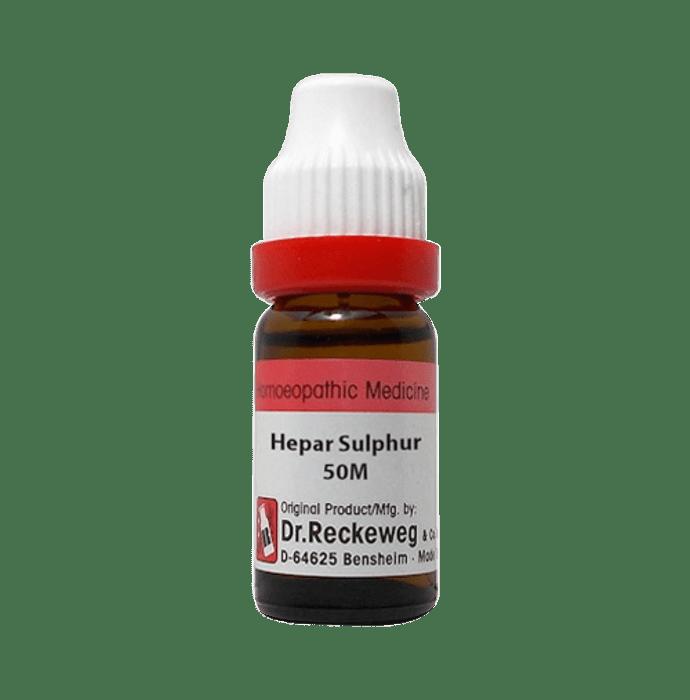 Dr. Reckeweg Hepar Sulphur Dilution 50M CH