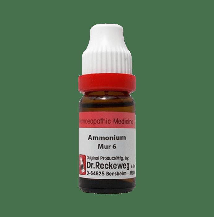 Dr. Reckeweg Ammonium Mur Dilution 6 CH