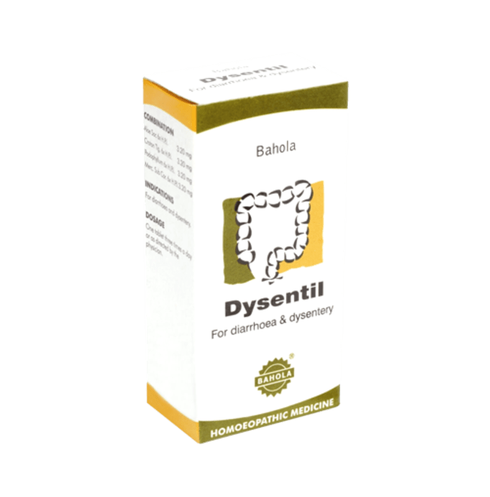 Bahola Dysentil Tablet