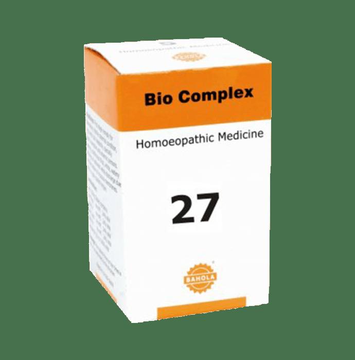 Bahola Bio Complex 27 Biocombination Tablet