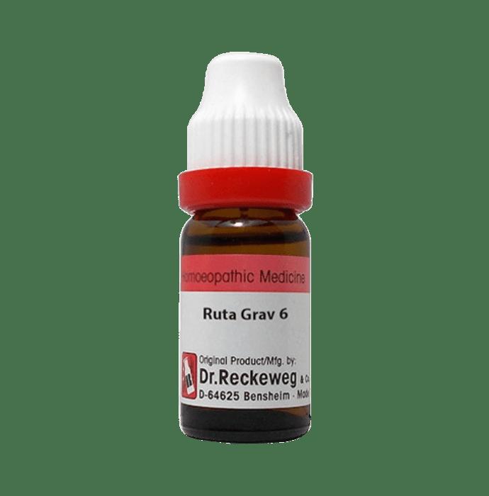 Dr. Reckeweg Ruta Grav Dilution 6 CH