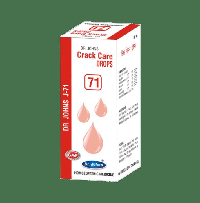 Dr. Johns J-71 Crack Care Drop