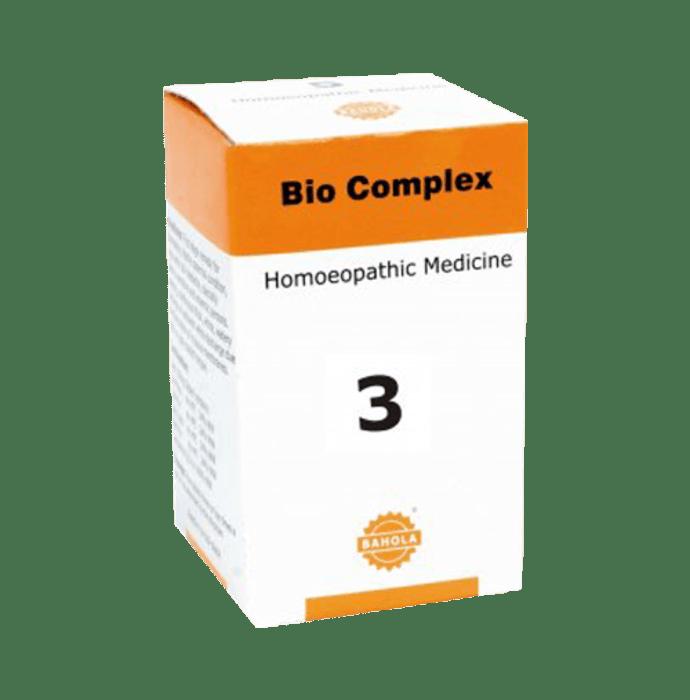 Bahola Bio Complex 3 Biocombination Tablet