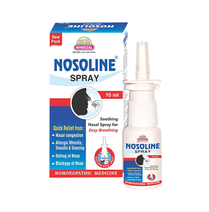 Wheezal Nosoline Nasal Spray
