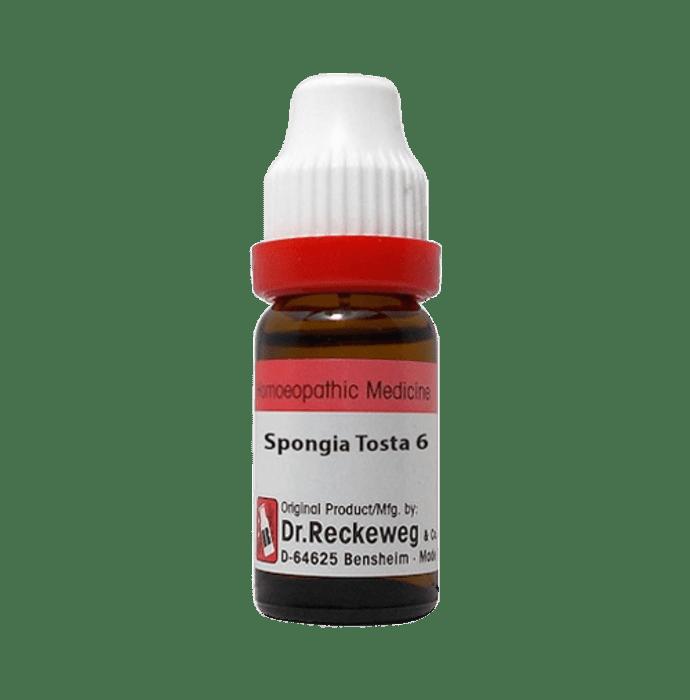 Dr. Reckeweg Spongia Tosta Dilution 6 CH