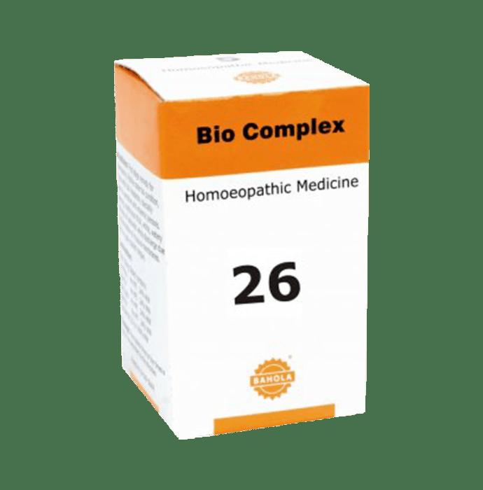 Bahola Bio Complex 26 Biocombination Tablet