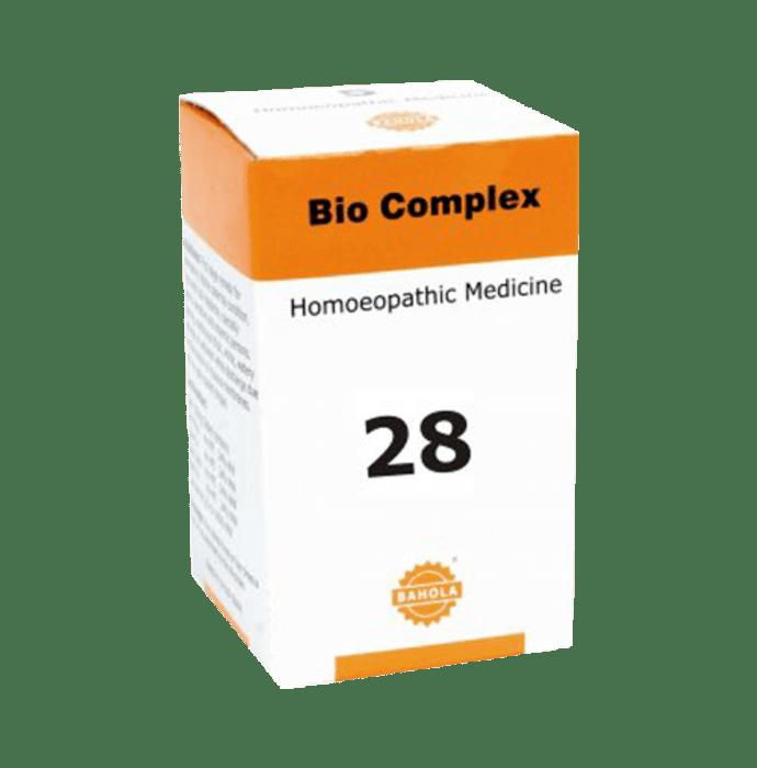 Bahola Bio Complex 28 Biocombination Tablet