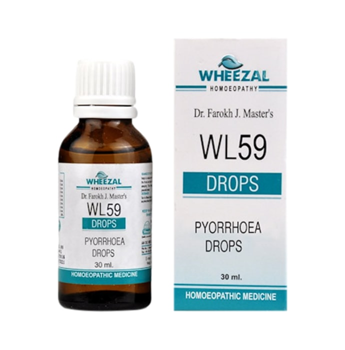 Wheezal WL59 Pyorrhoea Drop