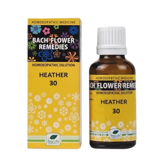 New Life Bach Flower Heather 30
