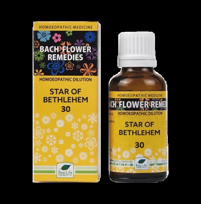 New Life Bach Flower Star Of Bethlehem 30