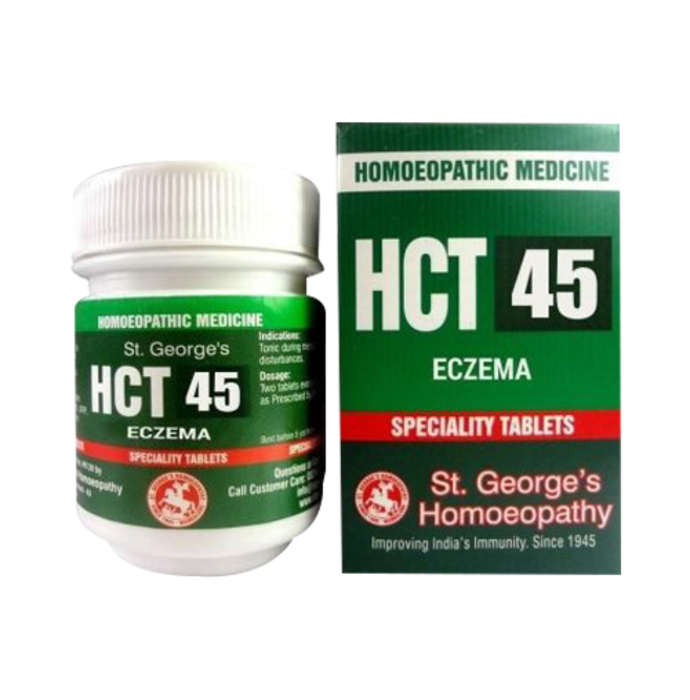 St. George's HCT 45 Eczema Tablet