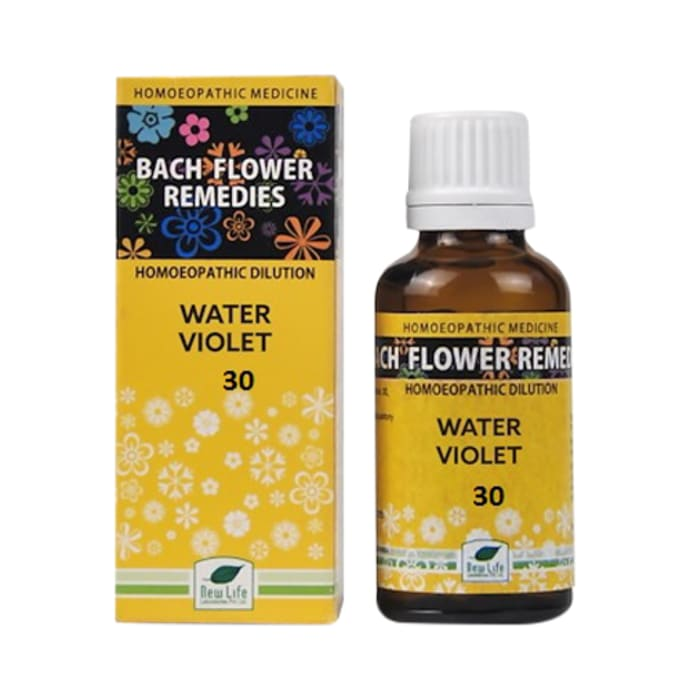 New Life Bach Flower Water Violet 30