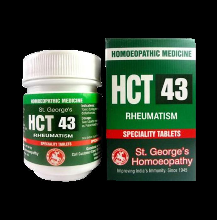 St. George's HCT 43 Rheumatism Tablet