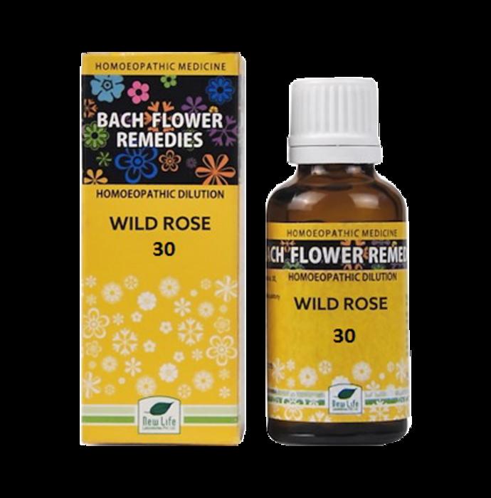 New Life Bach Flower Wild Rose 30
