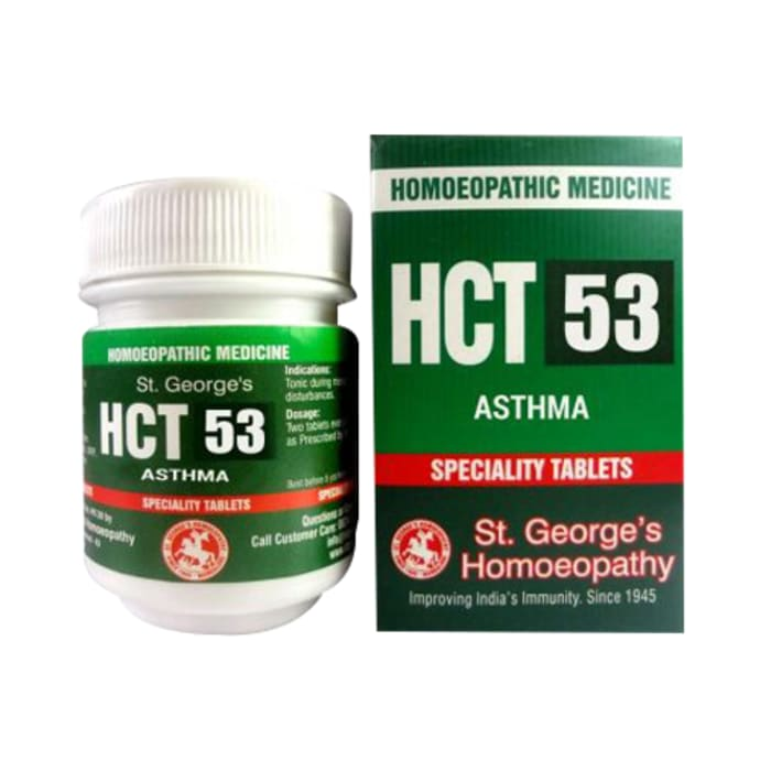 St. George's HCT 53 Asthma Tablet