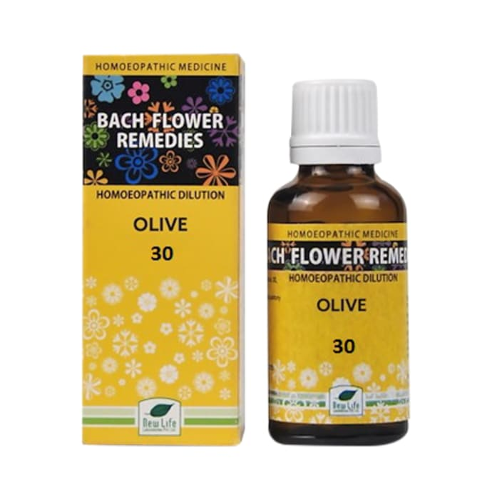 New Life Bach Flower Olive 30