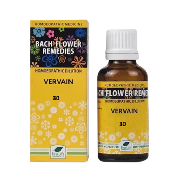 New Life Bach Flower Vervain 30