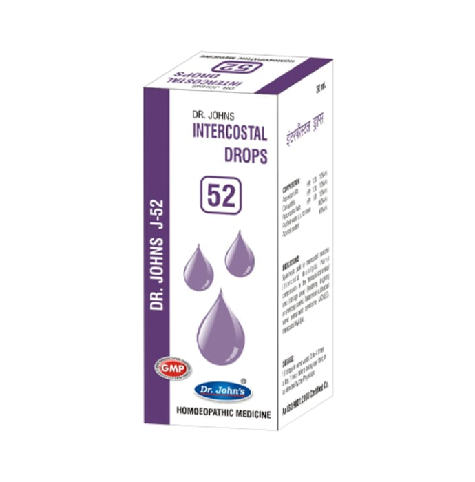Dr. Johns J-52 Intercostal Drop