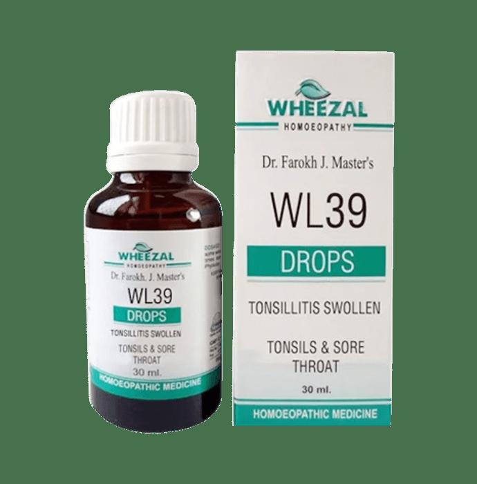 Wheezal WL39 Tonsillitis Swollen Drop
