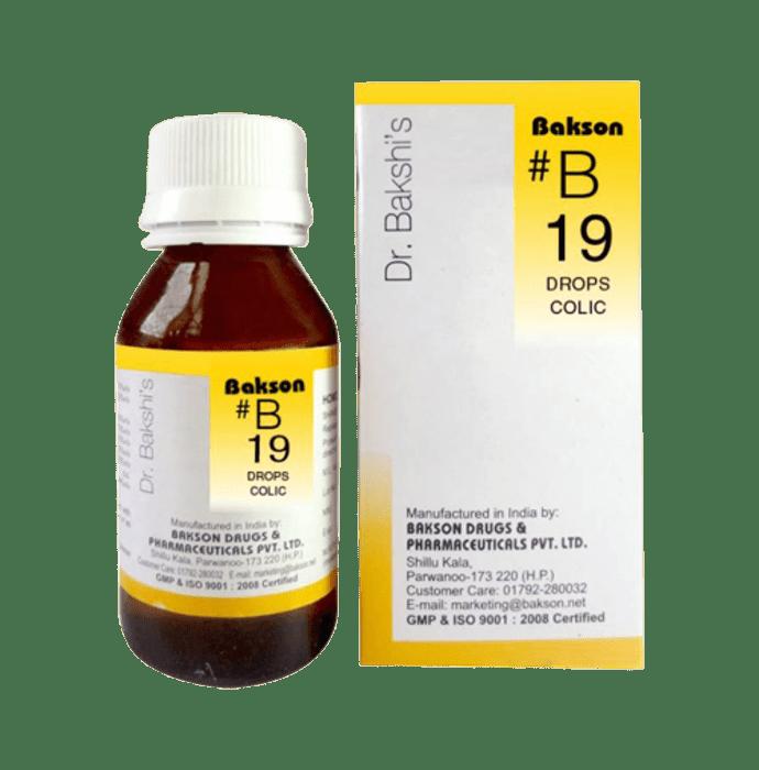 Bakson's B19 Colic Drop