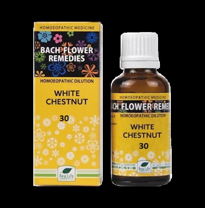 New Life Bach Flower White Chestnut 30