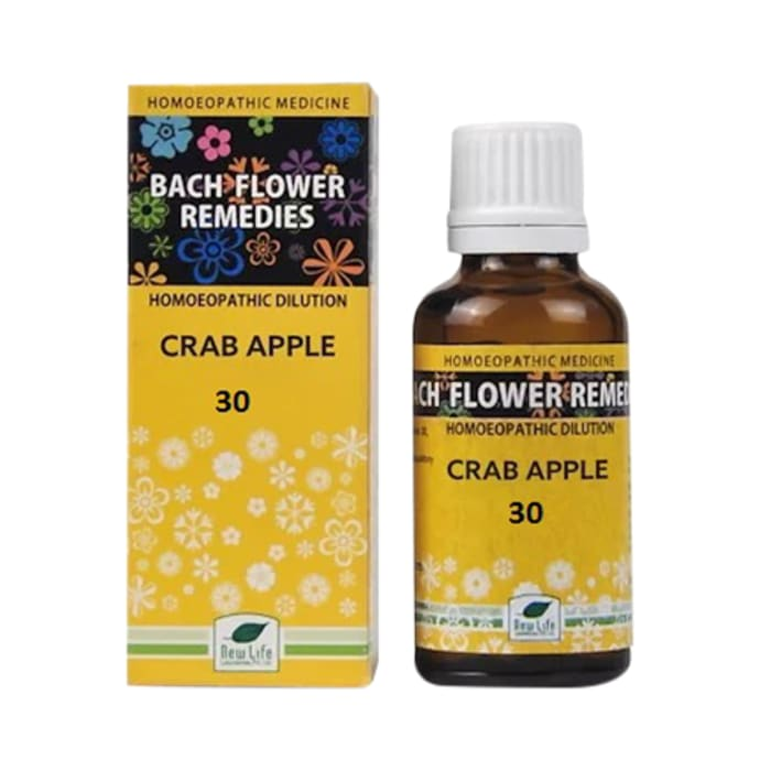 New Life Bach Flower Crab Apple 30