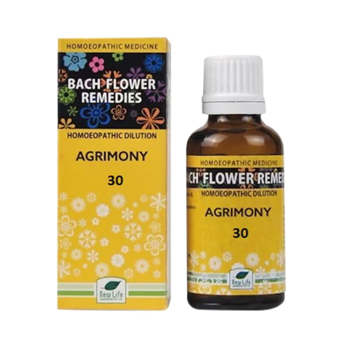 New Life Bach Flower Agrimony 30