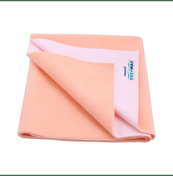 Newnik Cozymat, Dry Sheet (Size: 70cm X 100cm) Medium Peach