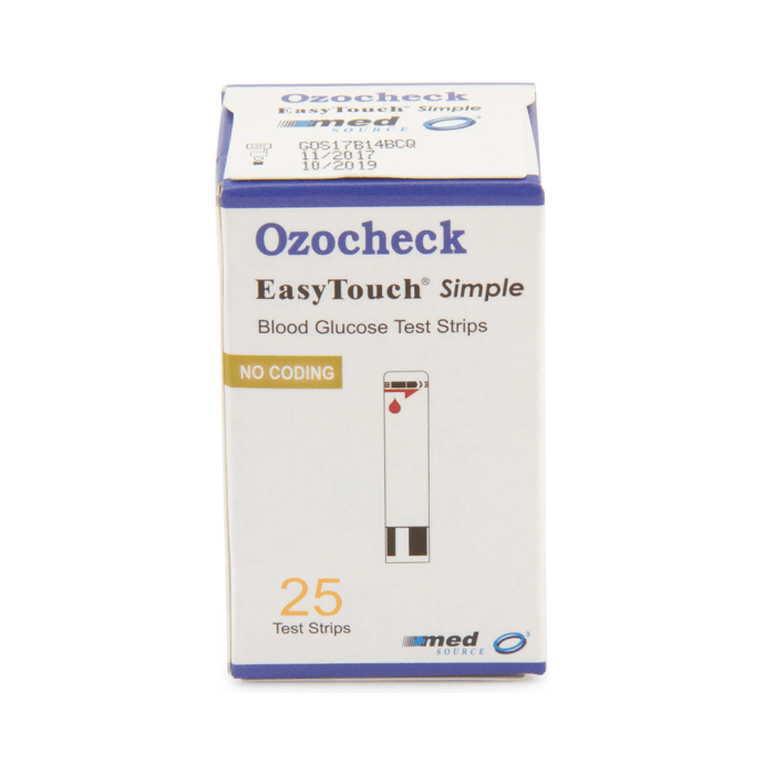 Ozocheck Easy Touch Blood Glucose Test Strip