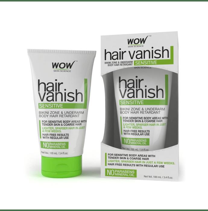 WOW Skin Science Hair Vanish Sensitive