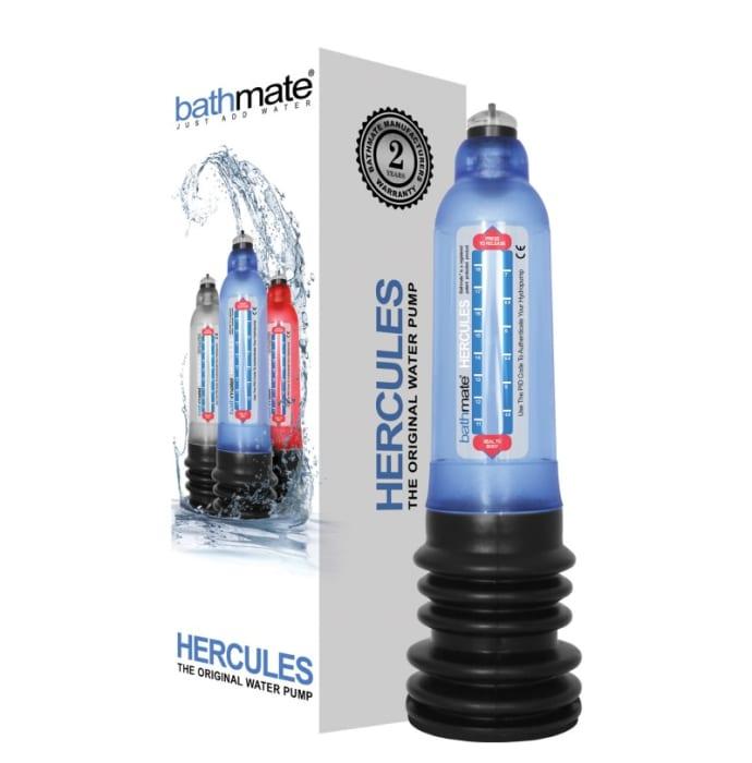 Bathmate Hercules Male Enhancement Penis Enlargement Pump Blue