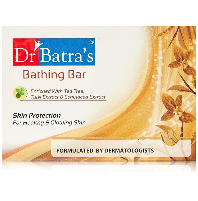 Dr Batra's Bathing Bar-Skin Protection Pack of 2