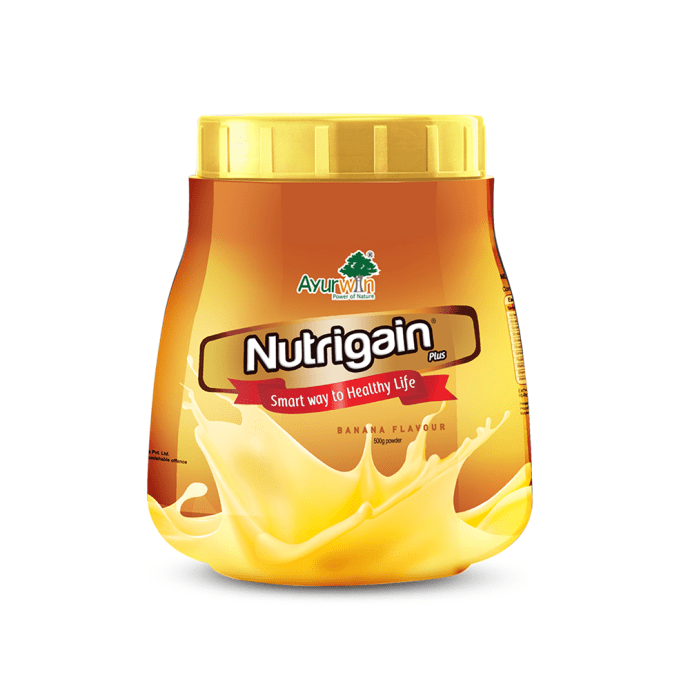 Ayurwin Nutrigain Plus Powder Banana