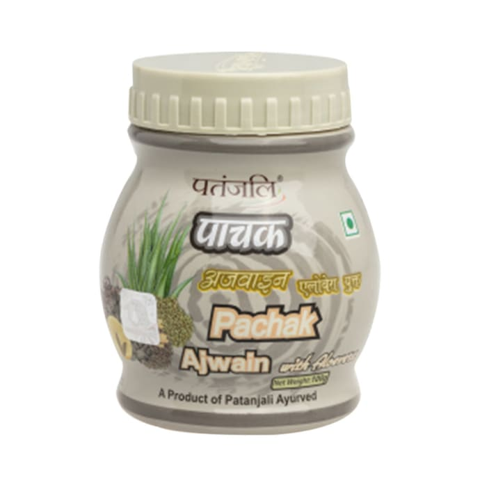 Patanjali Ayurveda Pachak Ajwain with Aloe Vera Pack of 9
