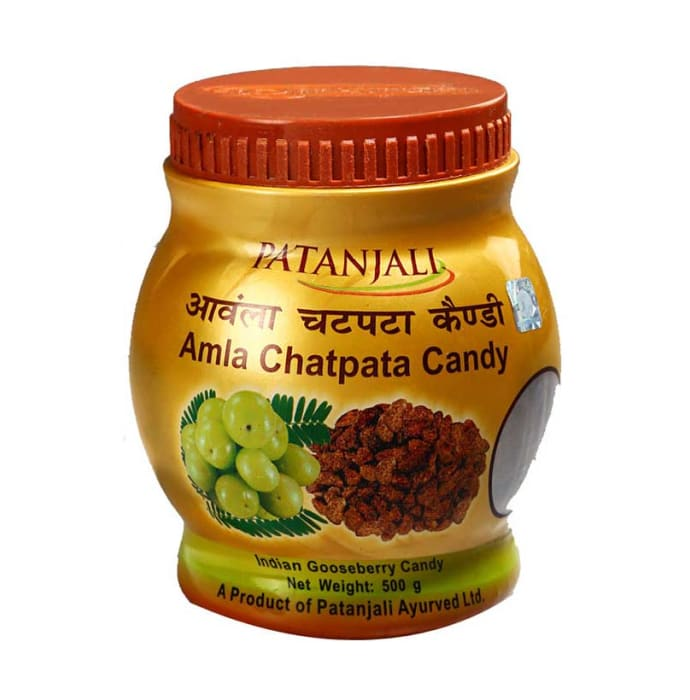 Patanjali Ayurveda Amla Chatpata Candy Pack of 3