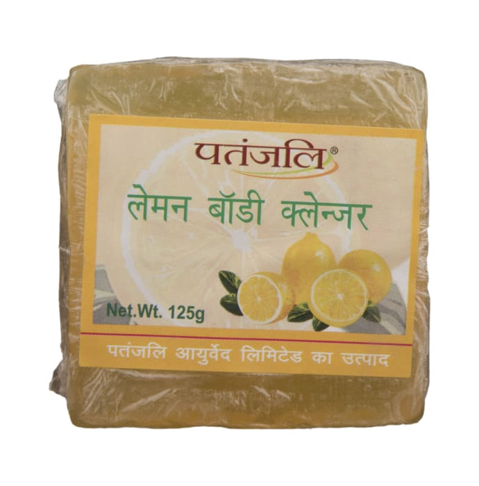 Patanjali Ayurveda Lemon Body Cleanser Pack of 9