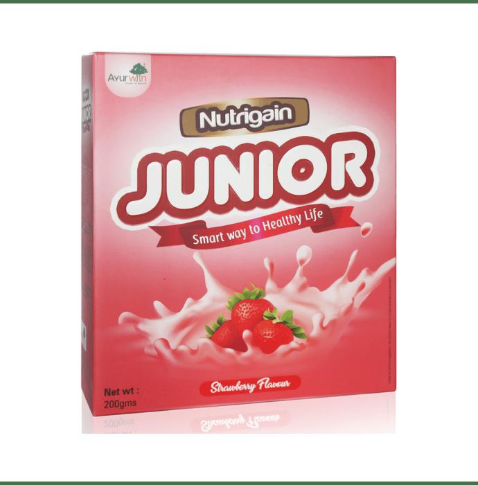 Ayurwin Nutrigain Junior Powder Strawberry